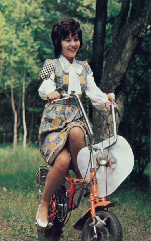 ミニ自転車の真理さんTM