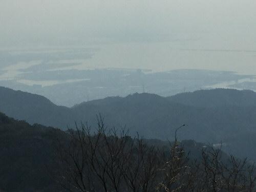 六甲山頂からの風景160305