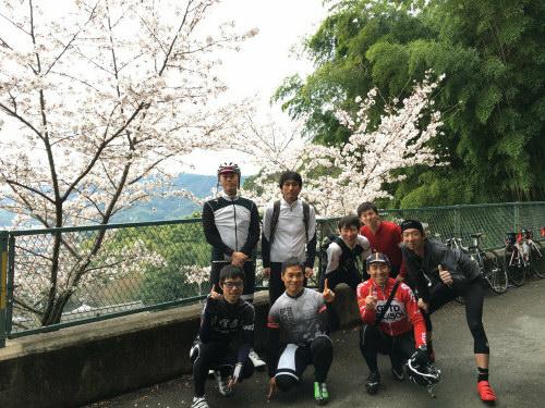 月曜道上桜クライム