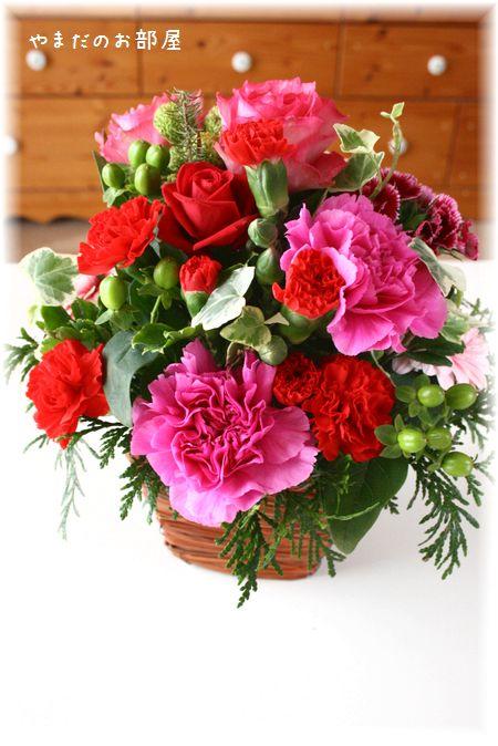 2016年やまだの誕生日のお花①