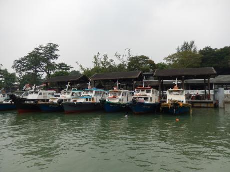 シンガポール2015.10ウビン島