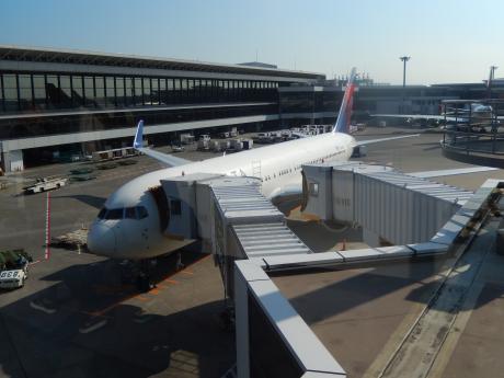シンガポール2015.10成田空港・デルタ航空