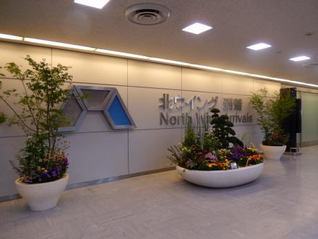 シンガポール2015.10成田空港