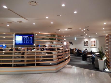 シンガポール2016.1成田空港デルタスカイクラブ
