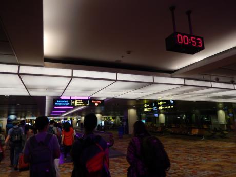 シンガポール2016.1チャンギ空港