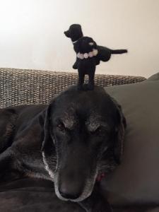 犬毛フィギュア