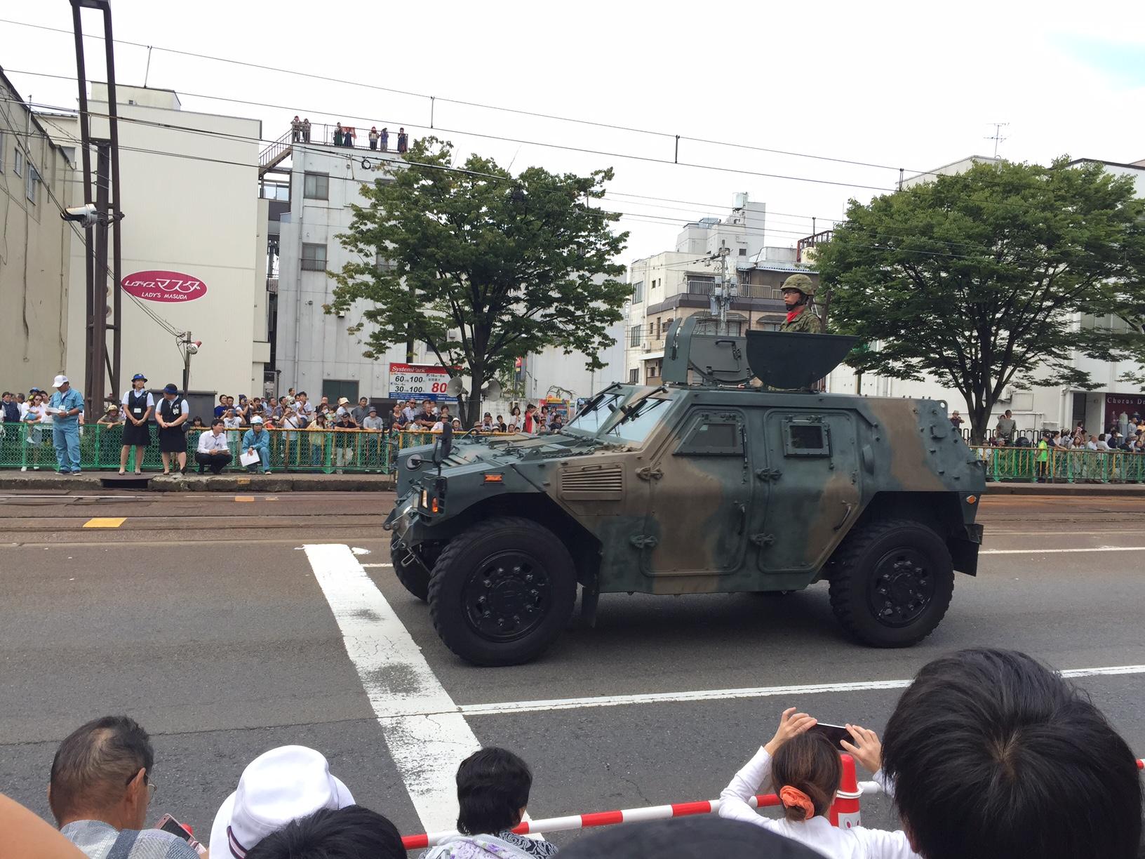 3自衛隊パレード1 2015