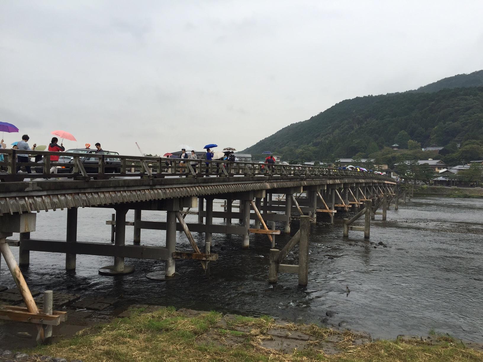 6嵐山 渡月橋2015