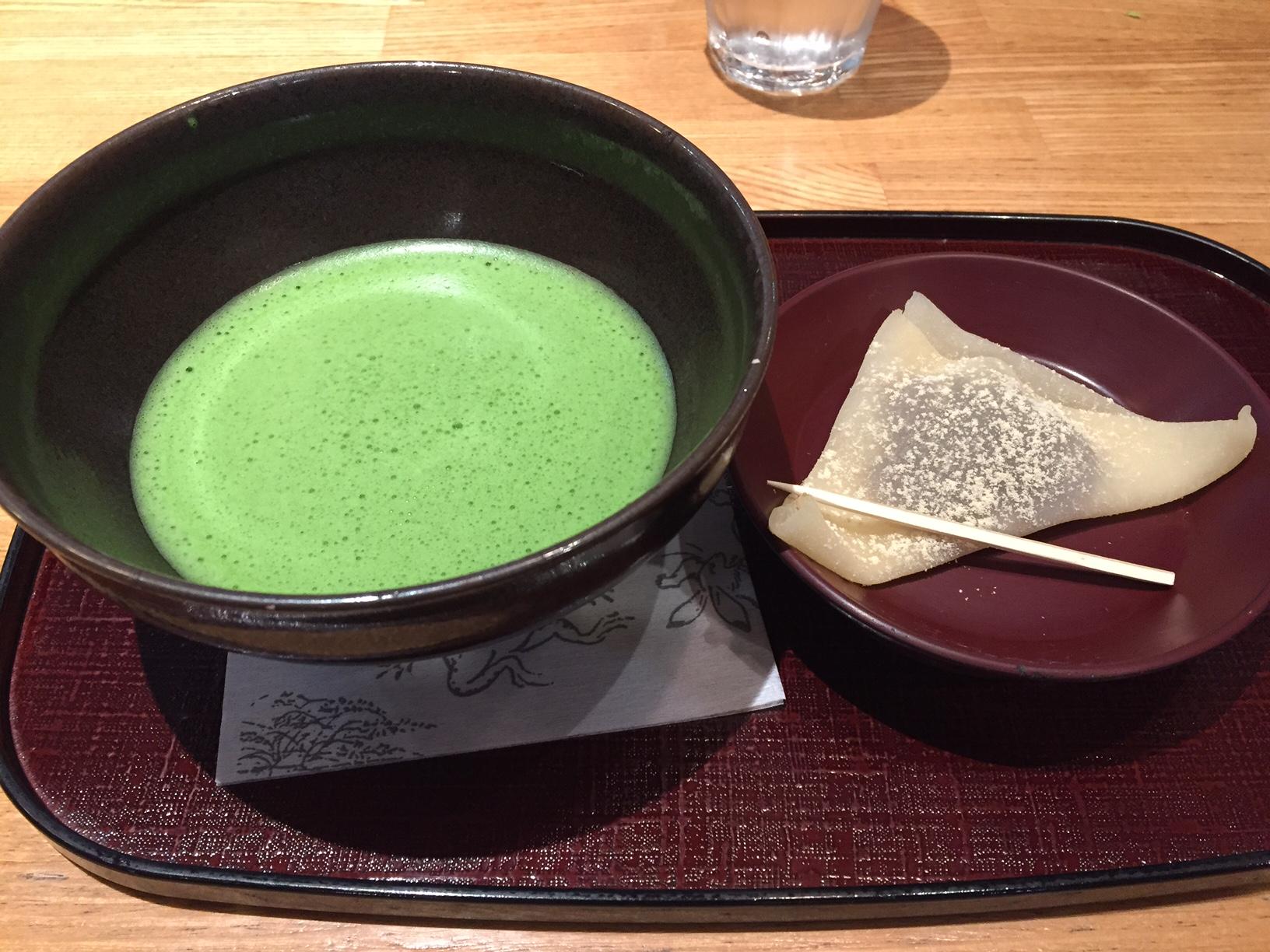 7京都駅 お抹茶2015