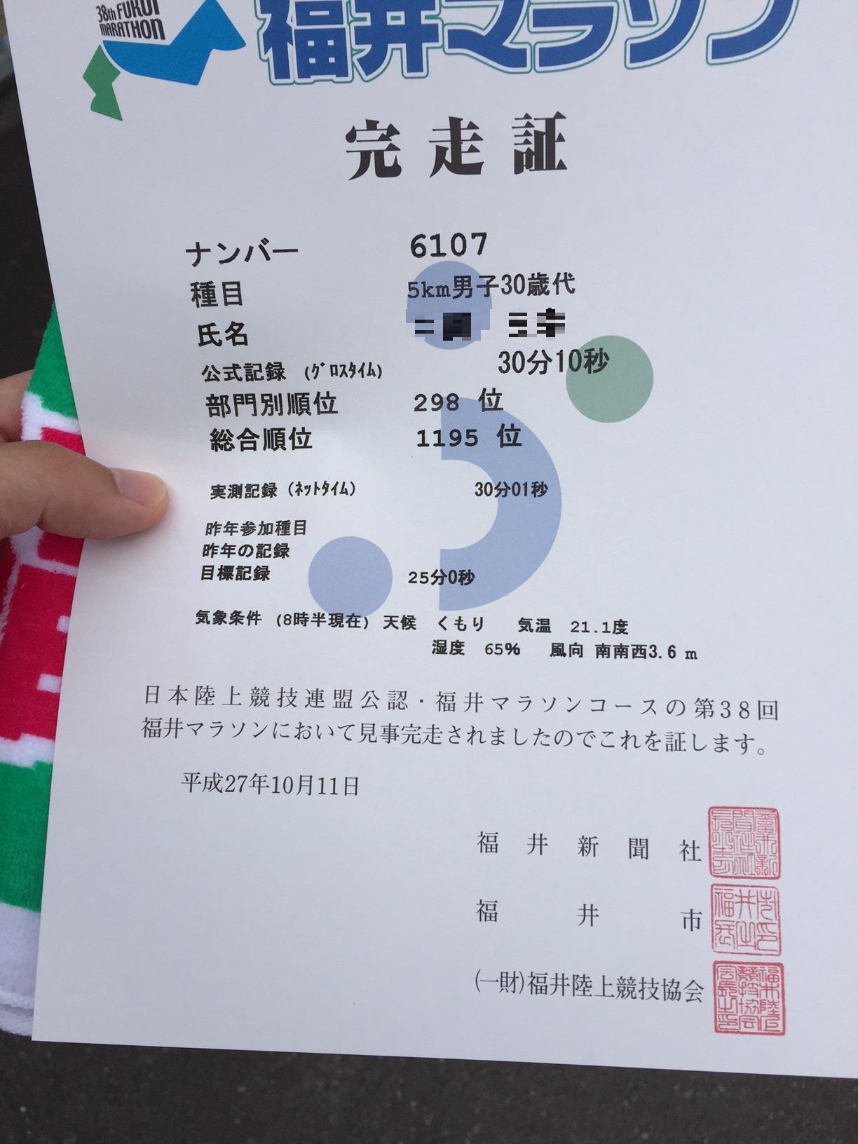 4福井マラソン2015