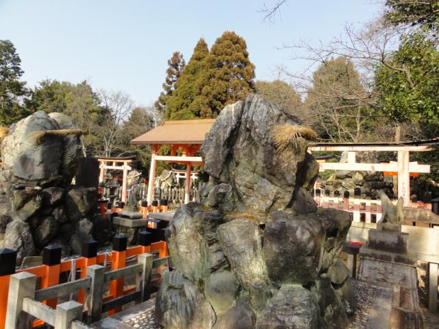 2016年2月28日 伏見稲荷 岩をまつる