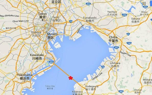 Aqualine map