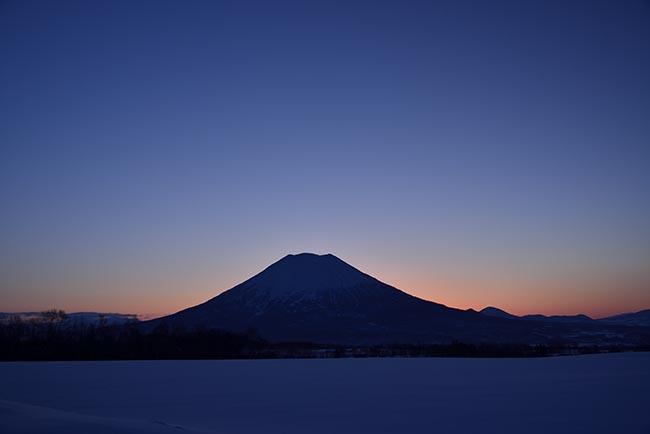 黎明羊蹄山