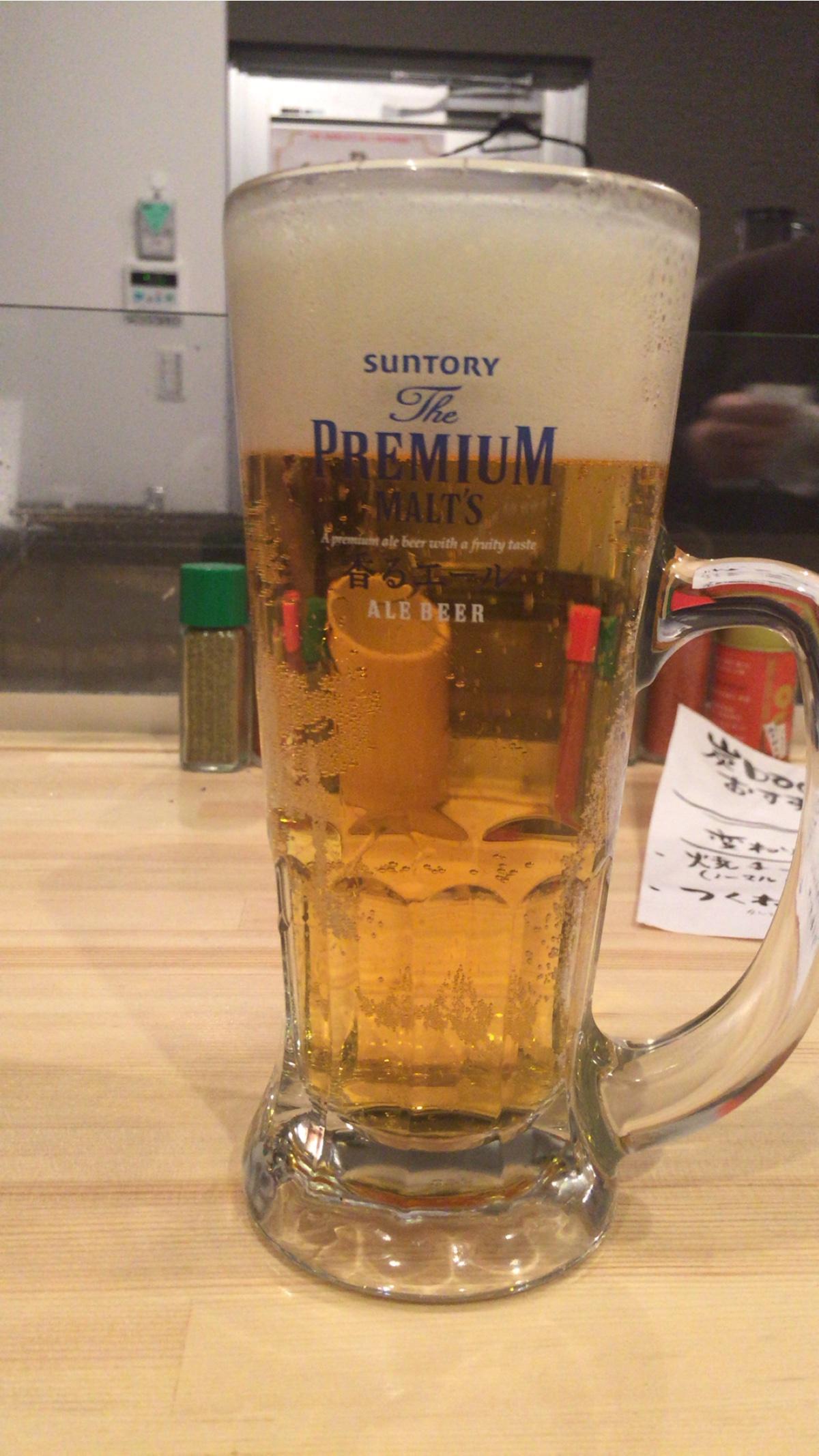 大阪新世界横丁baco生ビール