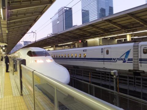 鳥羽へ(新幹線)2