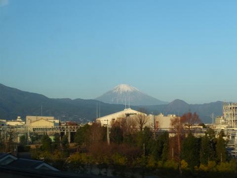 30分後 富士山