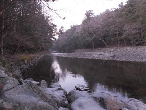 内宮(五十鈴川御手洗場)