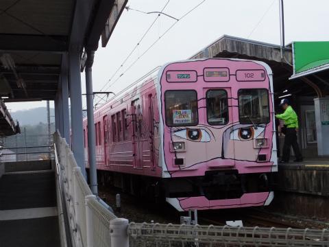 上野線の電車1