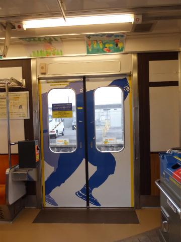 上野線の電車4