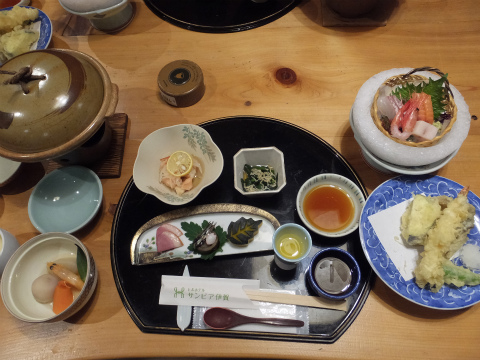 サンピア伊賀夕食