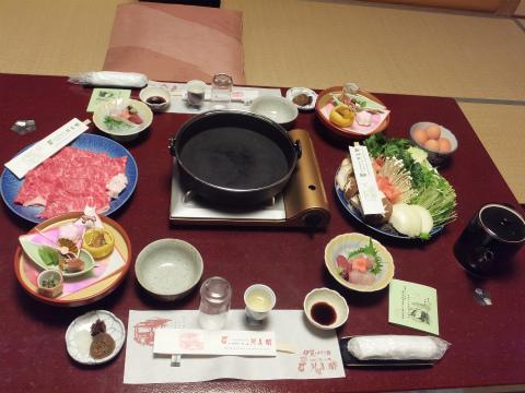 伊賀牛すき焼き1