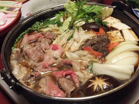 伊賀牛すき焼き4