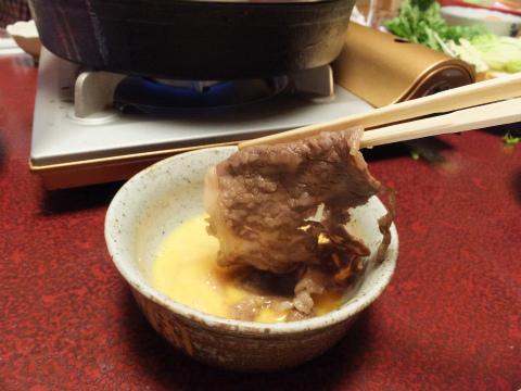 伊賀牛すき焼き5