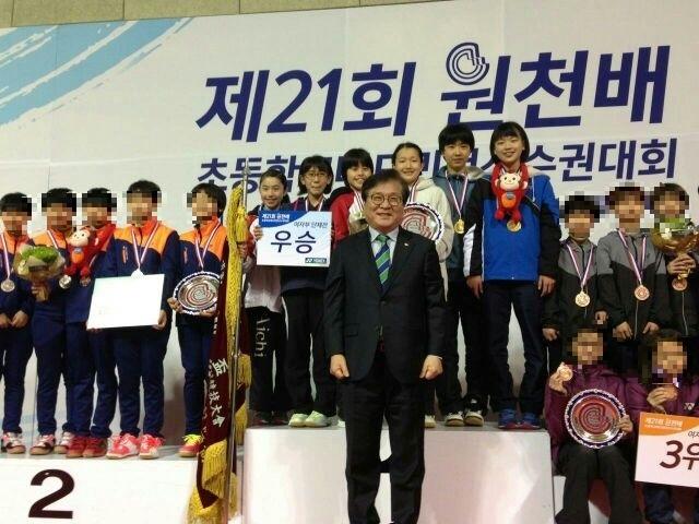 韓国で優勝!