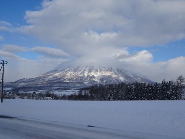 12月31日 羊蹄山.上部ガス.