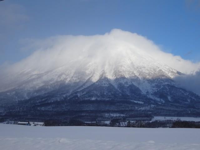 1月1日 2日連続の羊蹄山