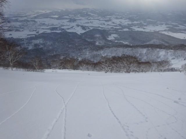 1月1日 どこまで滑ってもノートラック
