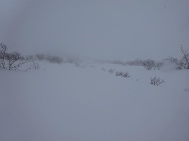 1月3日 上部は相変わらずの視界