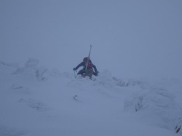 1月3日 抜かれたスキーヤー2人組