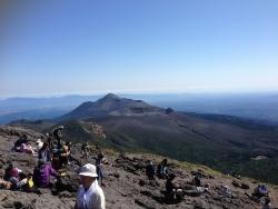 韓国岳(26)-頂上景色1
