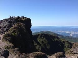 韓国岳(31)-頂上景色