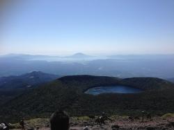 韓国岳(27)-頂上景色2