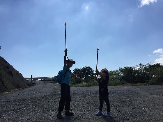 国見風車(2)-頑張るぞー10:31