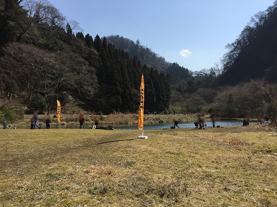 DYFC九重トラウトスクール(11)‐午後トーナメント開始