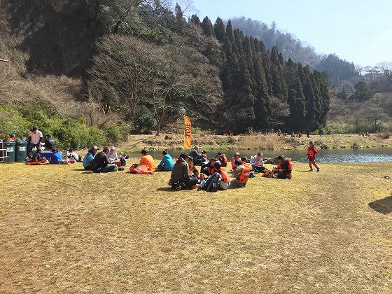 DYFC九重トラウトスクール(10)‐お昼ご飯