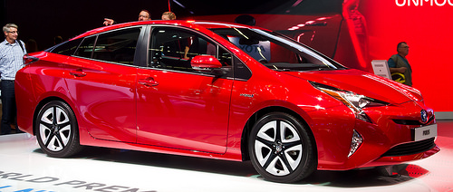 Toyota Prius (IV) – Frontansicht, 19. September 2015, Frankfurt via photopin (license)