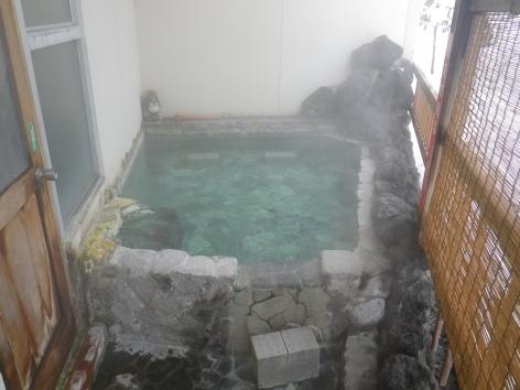 旅館美津木 露天岩風呂