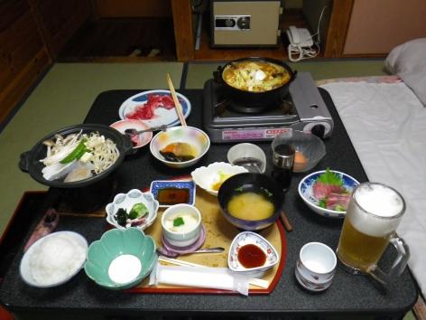 旅館美津木 夕食