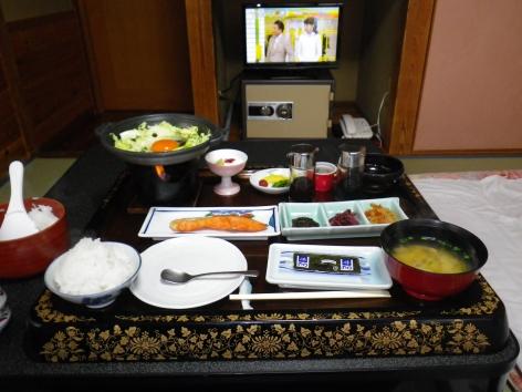 旅館美津木 朝食