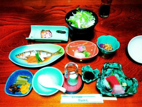 五十沢温泉 夕食