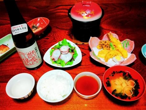 五十沢温泉 夕食①