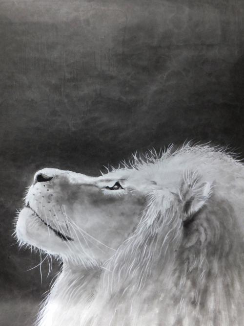 ライオン 絵