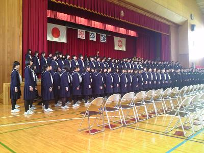 H28卒業生合唱