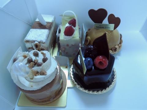 スーリール・ダンジュ平群店のケーキ 2016年2月 (4)