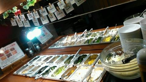 龍の巣 ヒルステップ生駒店 食べ放題ランチ (7)