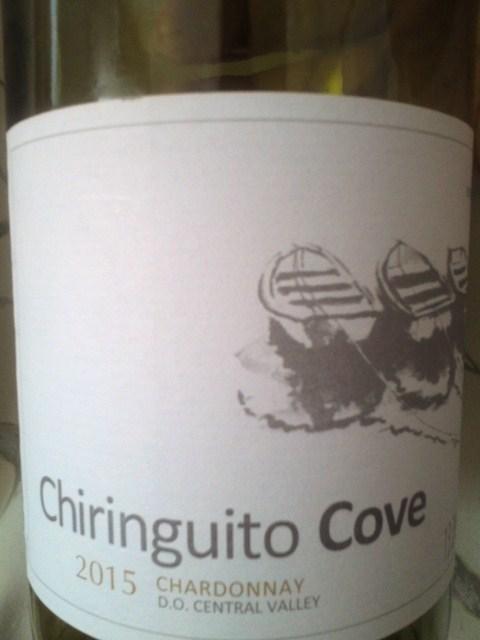 Chiringuito Cove CHARDONAY 2015(チリンギート・コヴェ  シャルドネ)